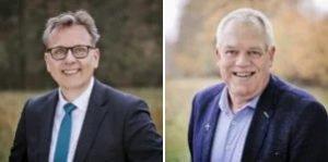 Dr. Frank Plaßmeyer und Pastor Uwe Winkler